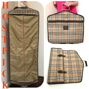Auc Vintage Burberry Garment Travel Bag/Luggage